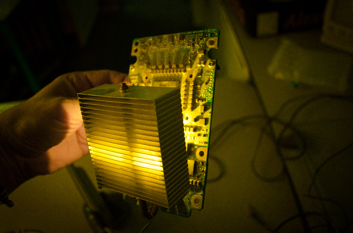 heatsink g5 light