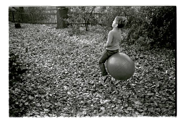 Photographed by his brother Stefan, Tyszko modeled the very first space hopper in Europe for the Daily Express in 1968.  This glamorous high point has never been matched, and he has returned to this path in Holland park at various points in his life, looking perhaps, for echoes of those iconic moments and the sixpence he still bitterly remembers loosing.
