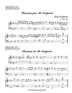 an example of some music. in this instance from the 17century