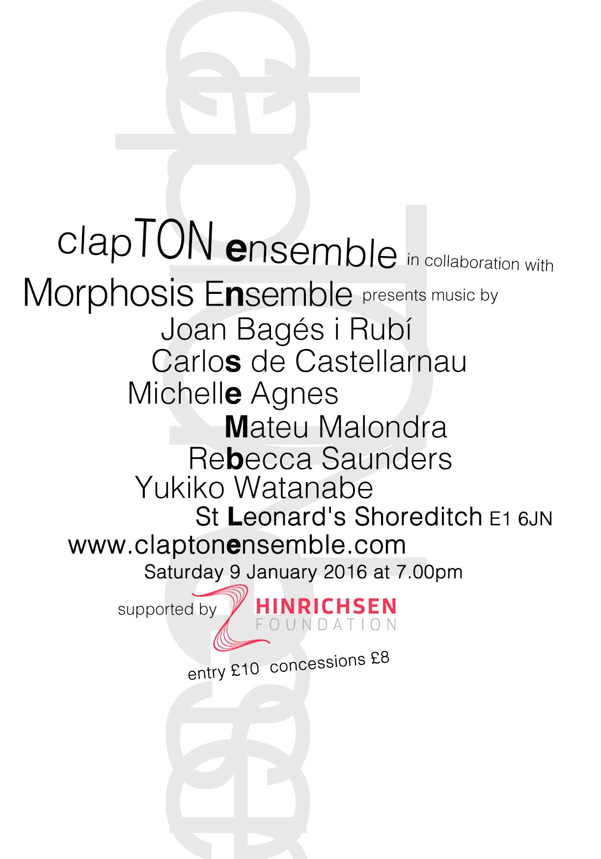 ClapTON Ensemble