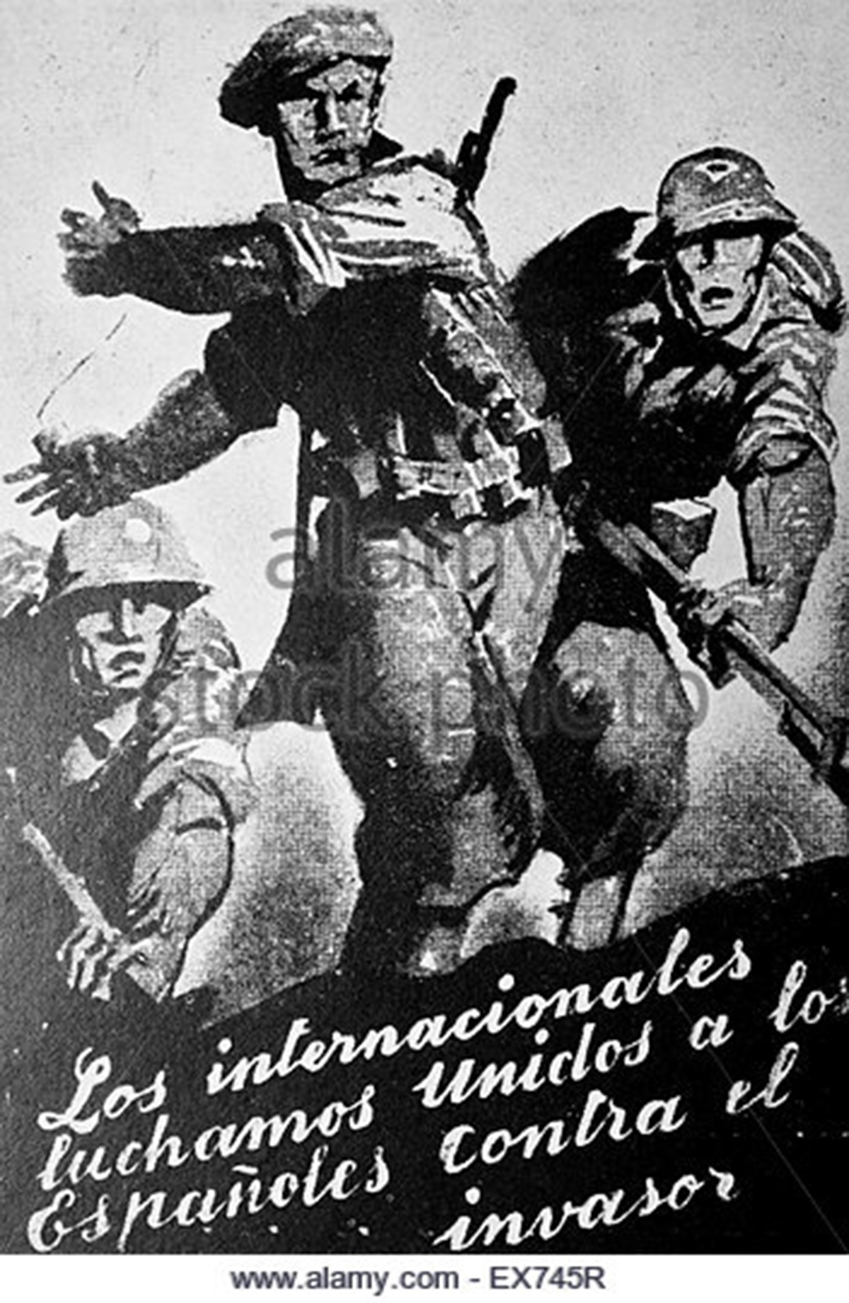 poster-stating-that-the-international-brigades-stand-united-with-spaniards-ex745r